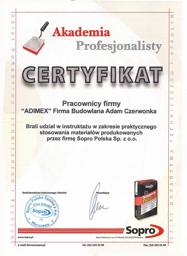 certyfikat_sopro